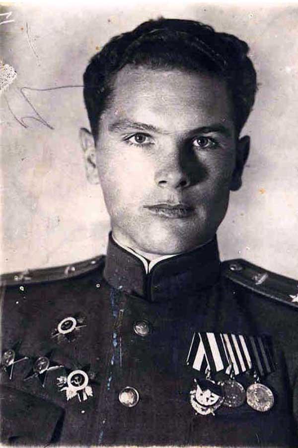 Подполковник А.И. Грибков