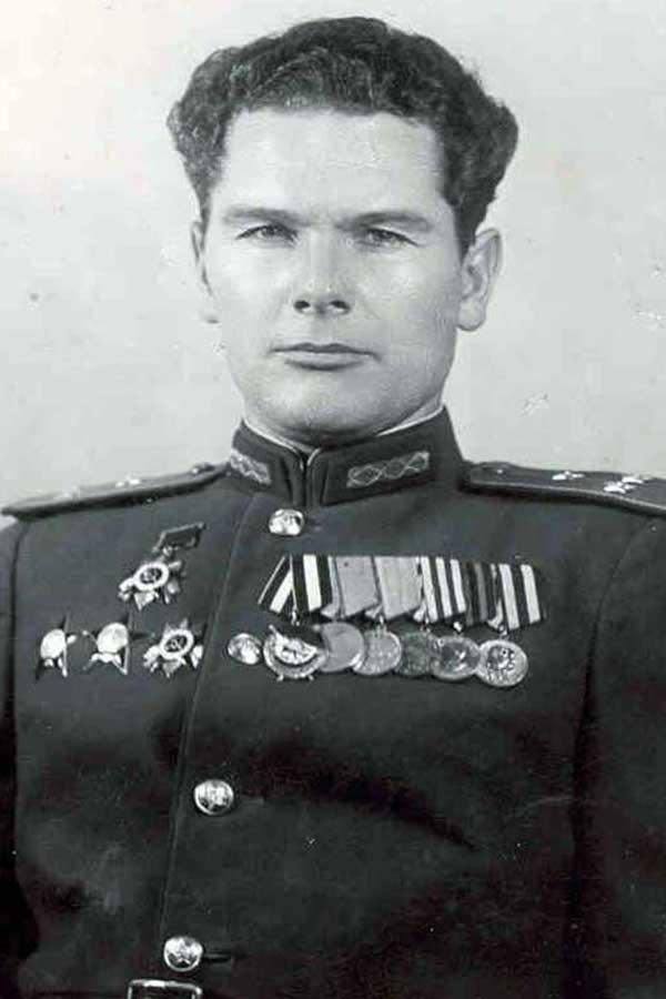 Полковник А.И. Грибков
