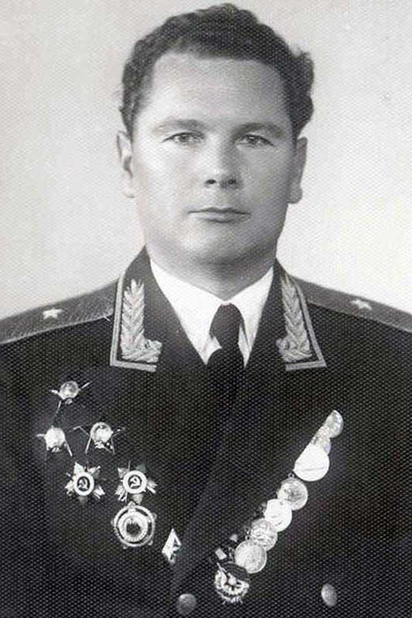 Генерал-майор А.И. Грибков