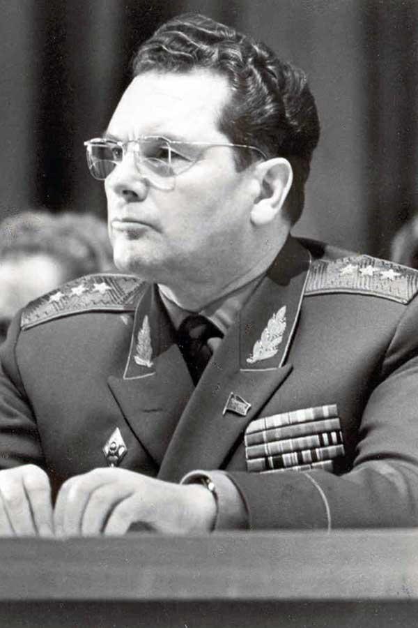 Генерал-лейтенант А.И. Грибков