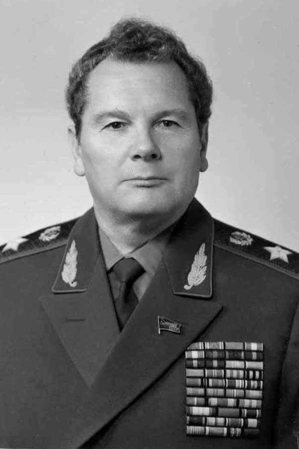 Генерал армии А.И. Грибков