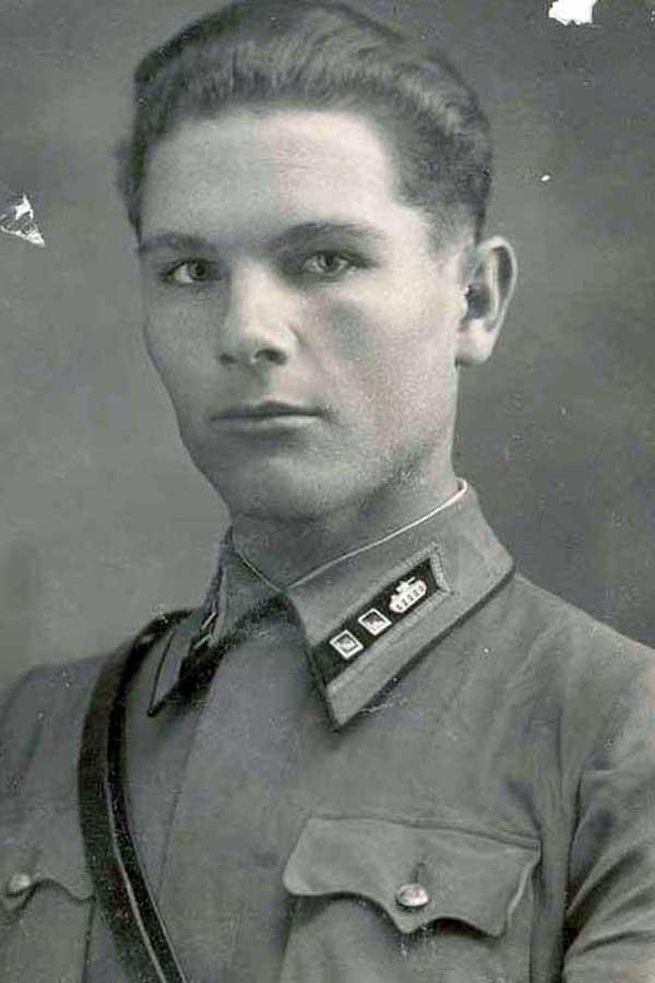 Лейтенант А.И. Грибков