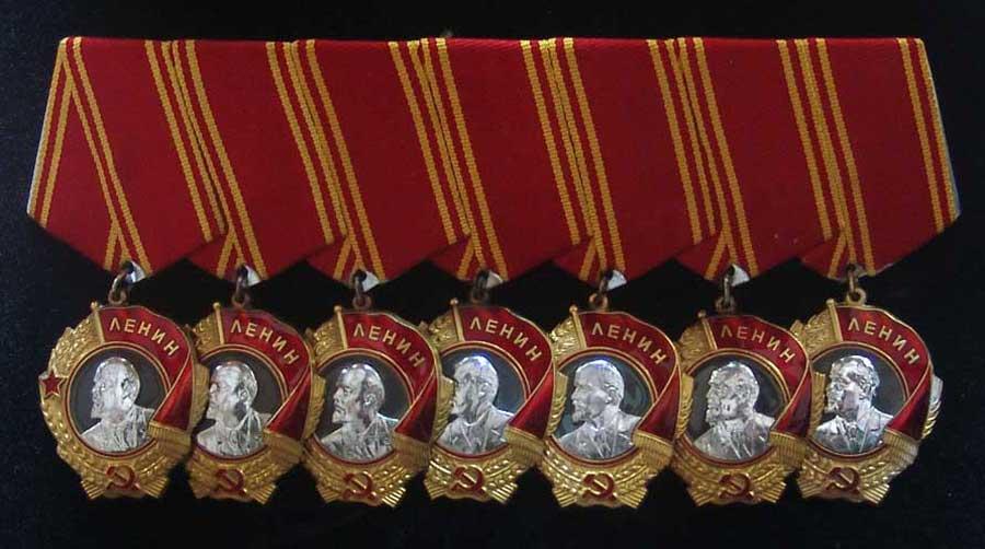 Общий вид орденов