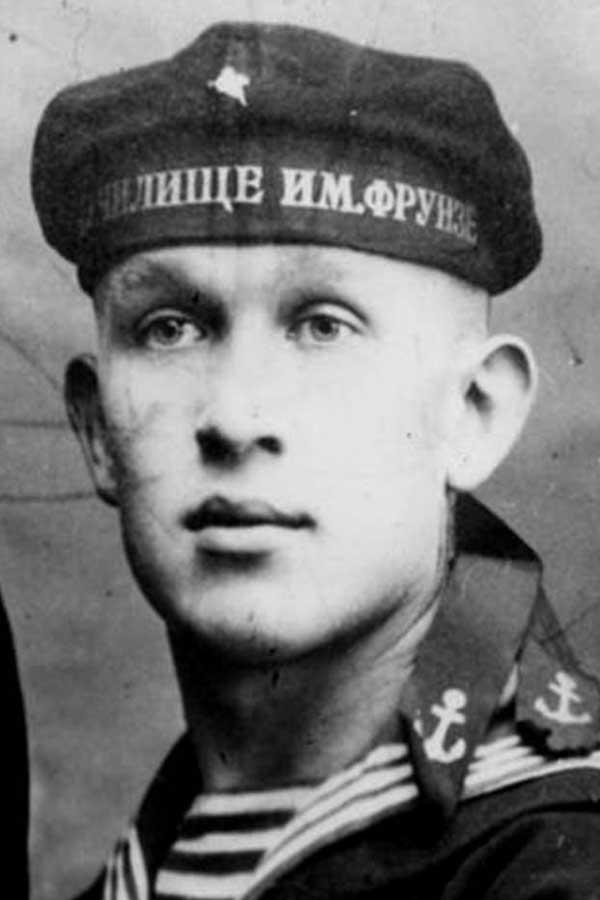 курсант Высшего военно-морского училища имени М.В. Фрунзе - 1927 г.