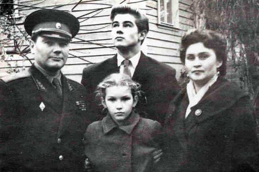 Семья А.И. Грибкова
