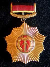 Орден ГДР